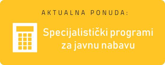 Javna nabava - specijalistički program